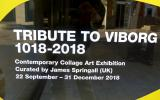 Window displays to promote Tribute to Viborg, 1018 – 2018